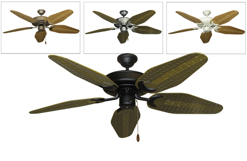 tropical outdoor ceiling fans photo - 3