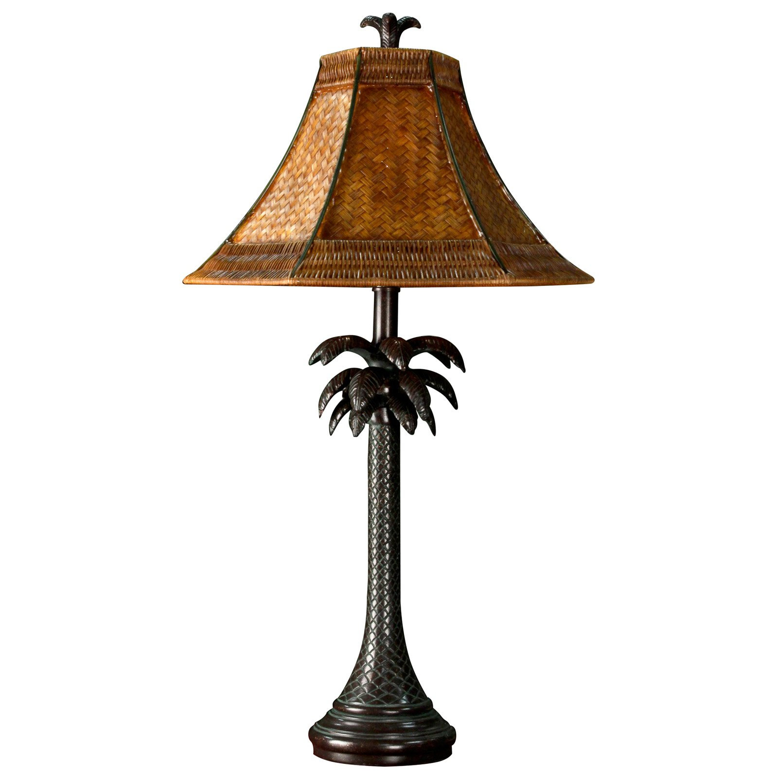 Palm Tree Decor For Bedroom Tropical Table Lamps Warisan Lighting