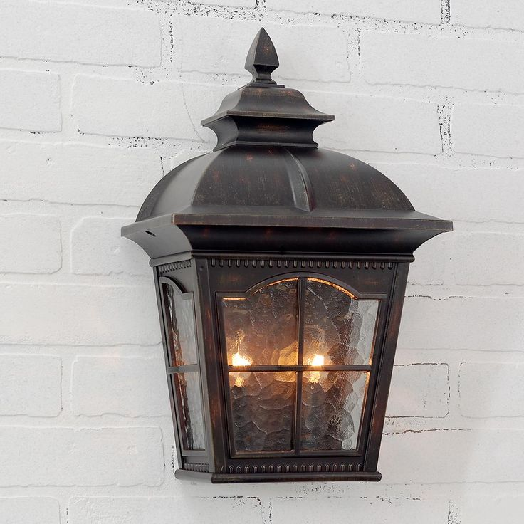 tudor outdoor lighting photo - 1