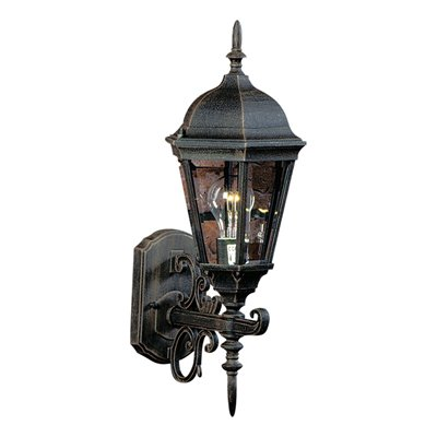 tudor outdoor lighting photo - 8