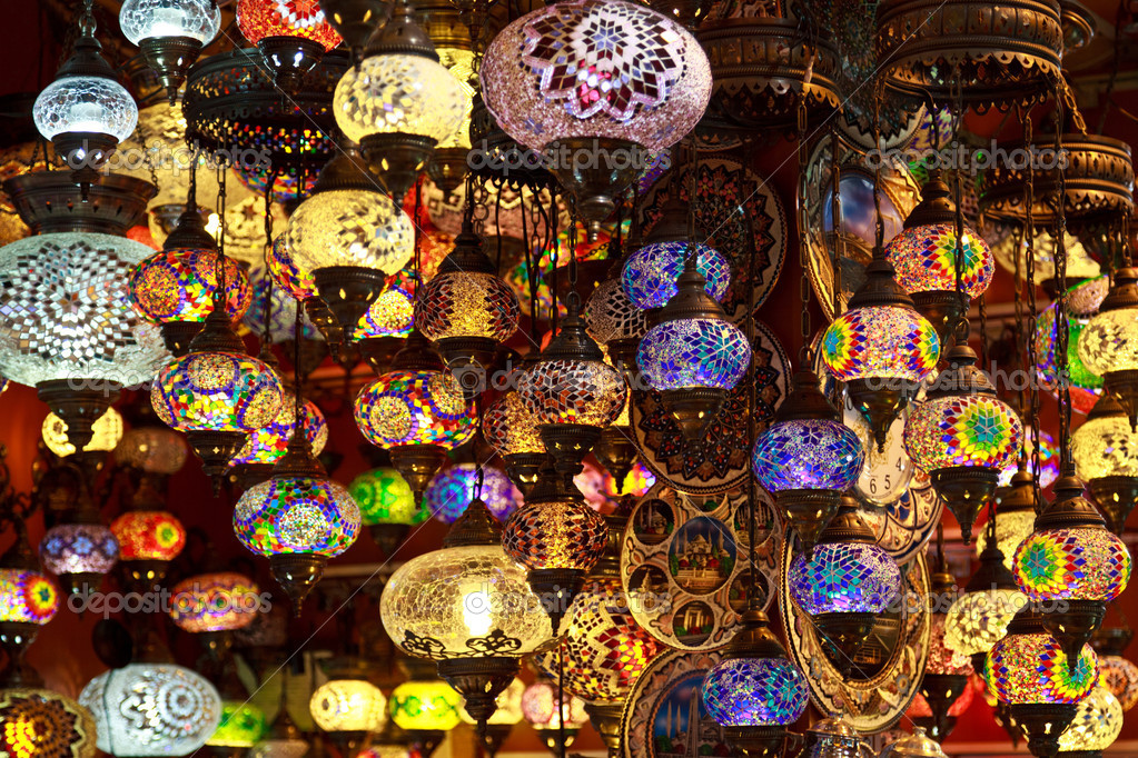 turkish lamps photo - 5