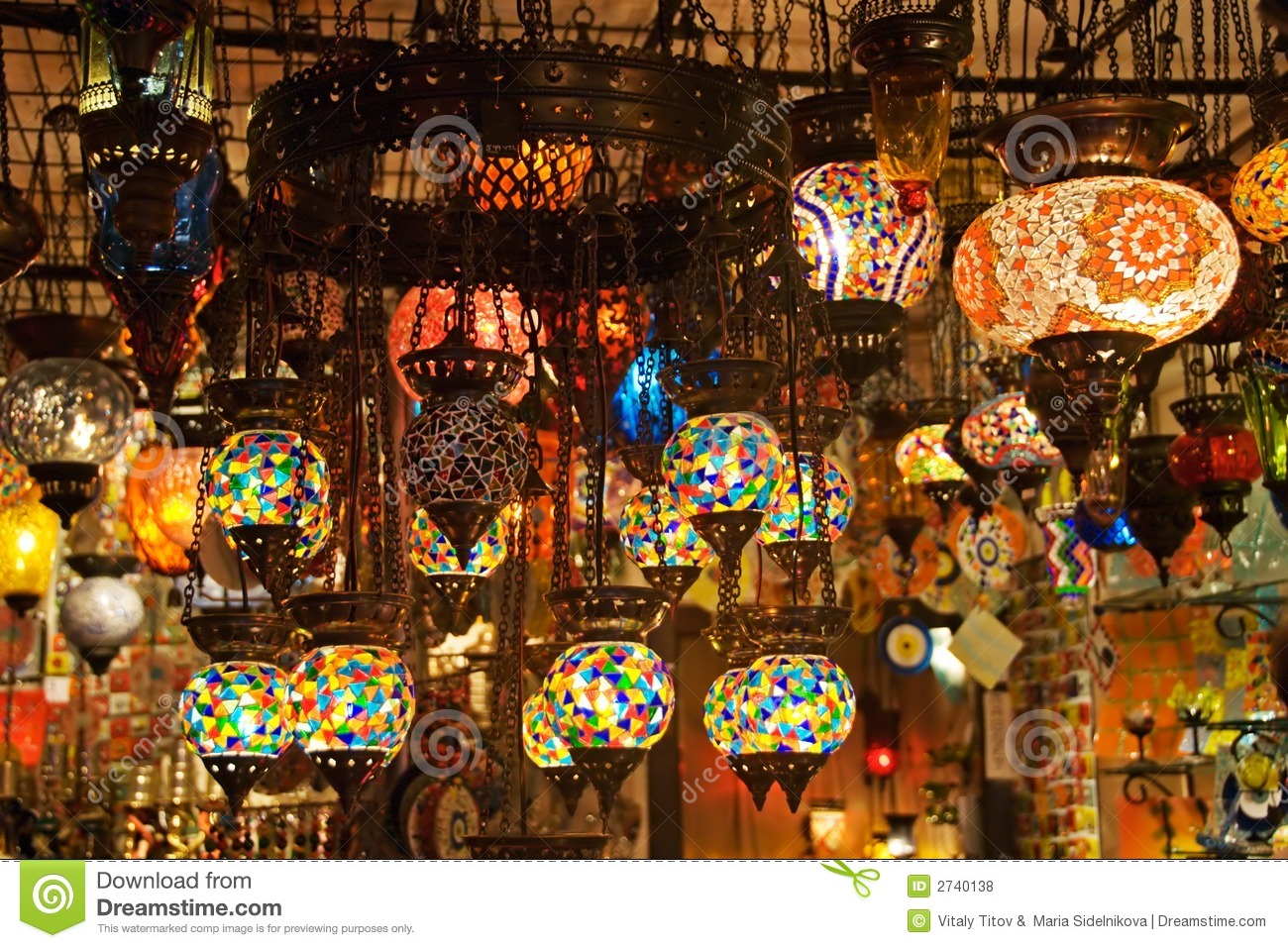 turkish lamps photo - 7