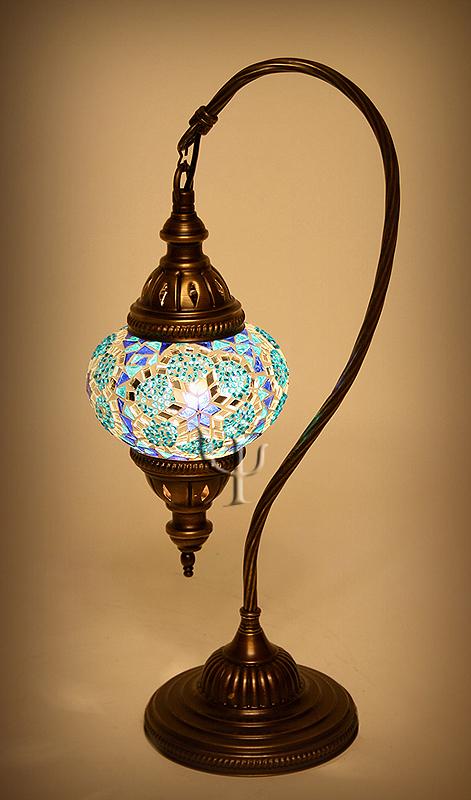 turkish mosaic lamps photo - 1