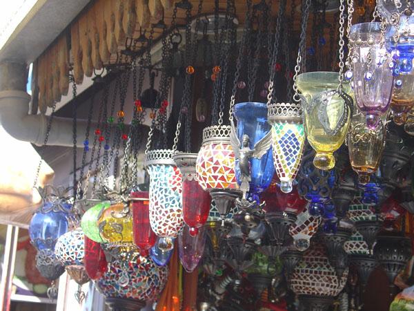 turkish mosaic lamps photo - 10