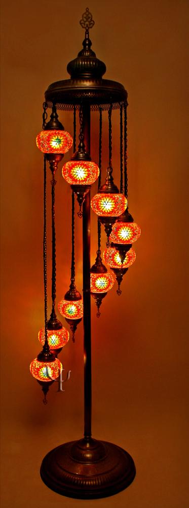 turkish mosaic lamps photo - 6