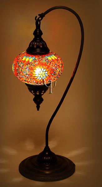 turkish mosaic lamps photo - 8