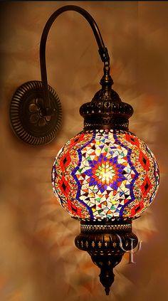 turkish wall lights photo - 2