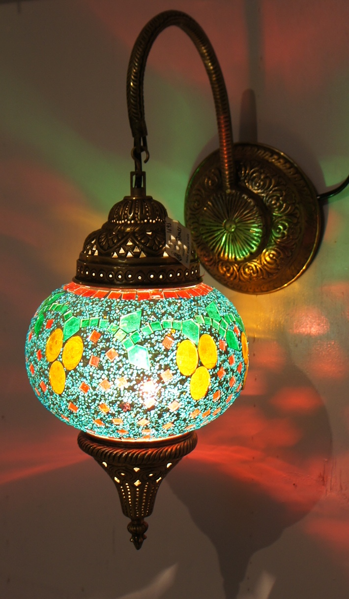 turkish wall lights photo - 3