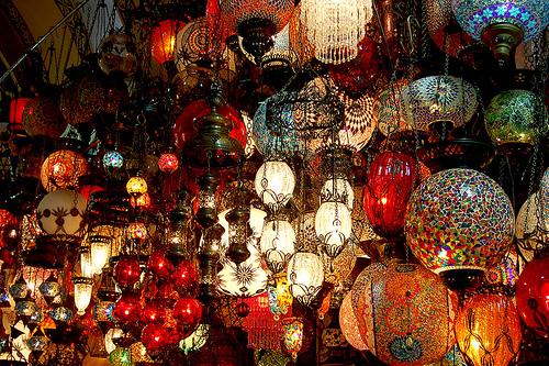 turkish wall lights photo - 5