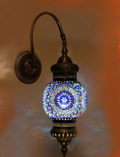 turkish wall lights photo - 8