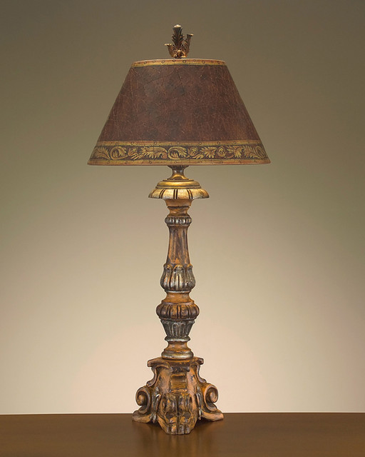 tuscan table lamps photo - 3