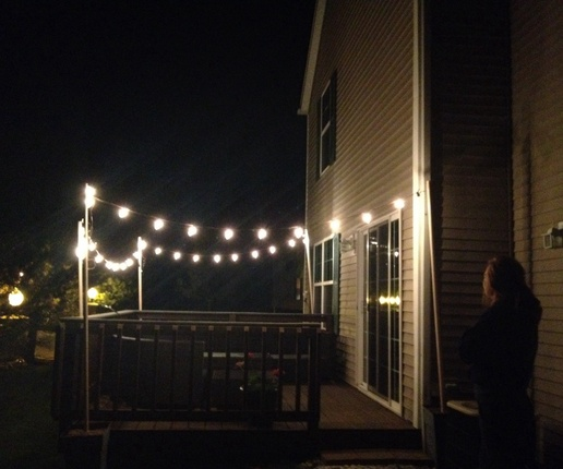twinkle lights outdoor photo - 5