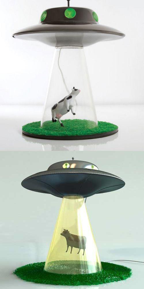 ufo lamp photo - 10