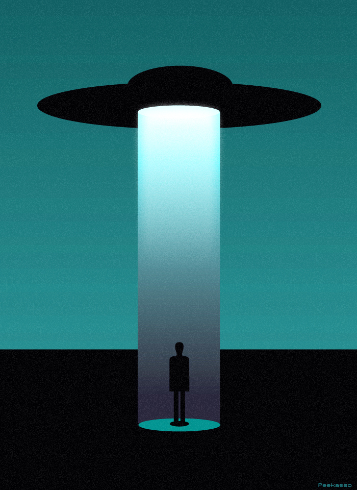 ufo lamp photo - 4