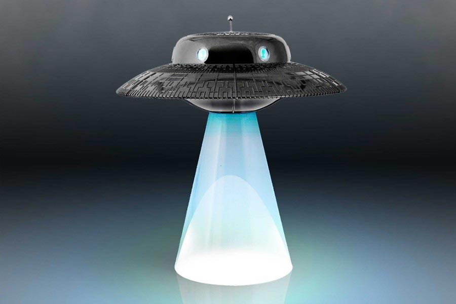 ufo lamp photo - 9