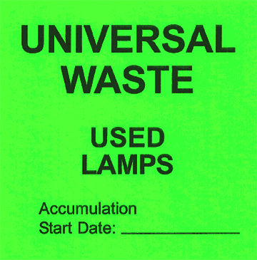 Universal Waste Lamps Warisan Lighting