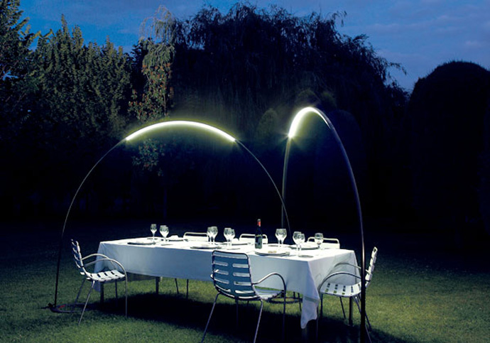 unusual outdoor lighting photo - 3