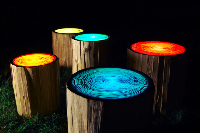unusual outdoor lighting photo - 7