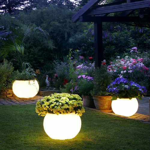 unusual outdoor lighting photo - 8