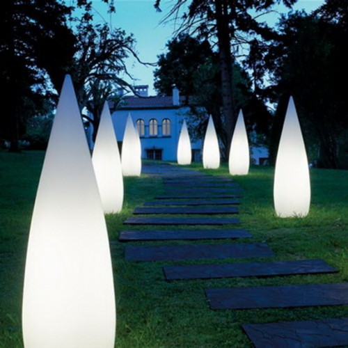 unusual outdoor lighting photo - 9