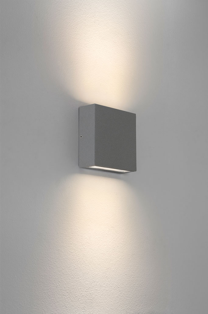 Up and down led wall lights an innovative look for for Exterior up and down lights led