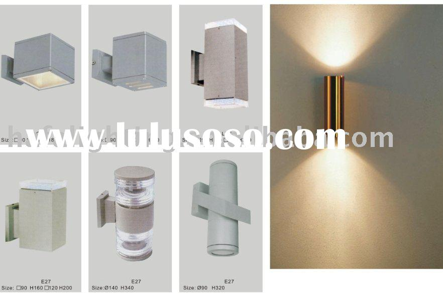 up and down outdoor wall lights photo - 4