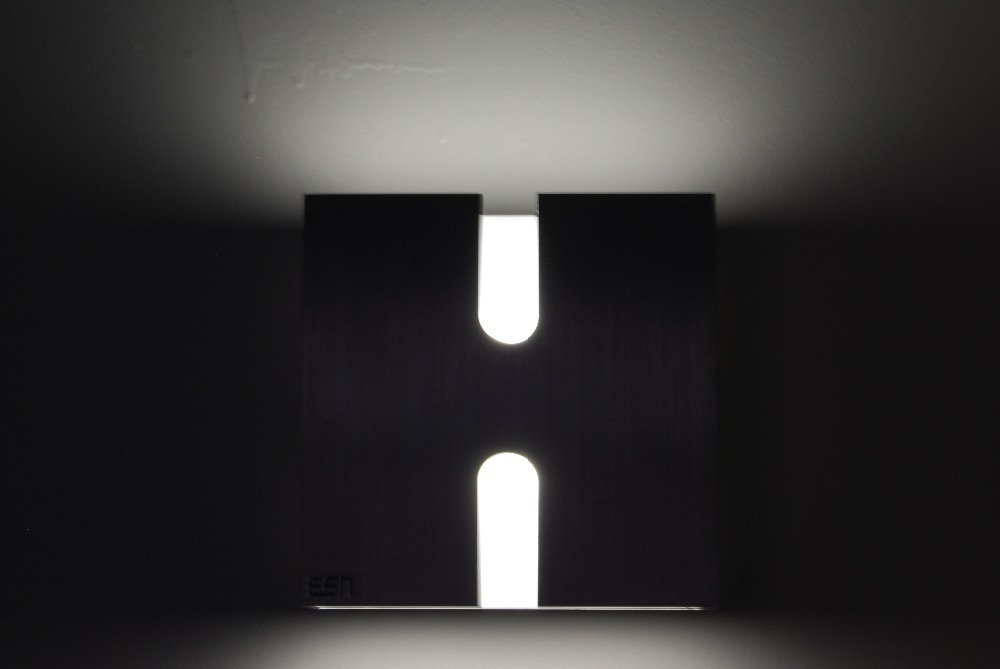 up down led wall light photo - 10