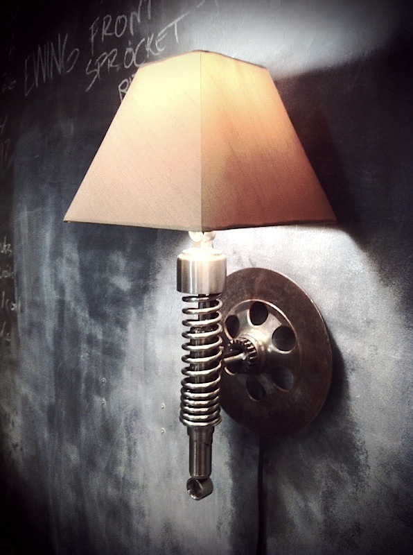 upcycled lamps photo - 2