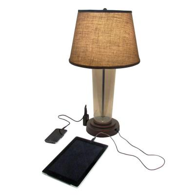usb table lamp photo - 3