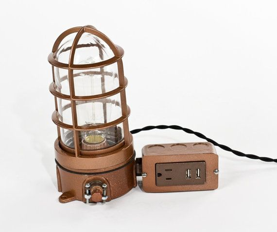 usb table lamp photo - 8