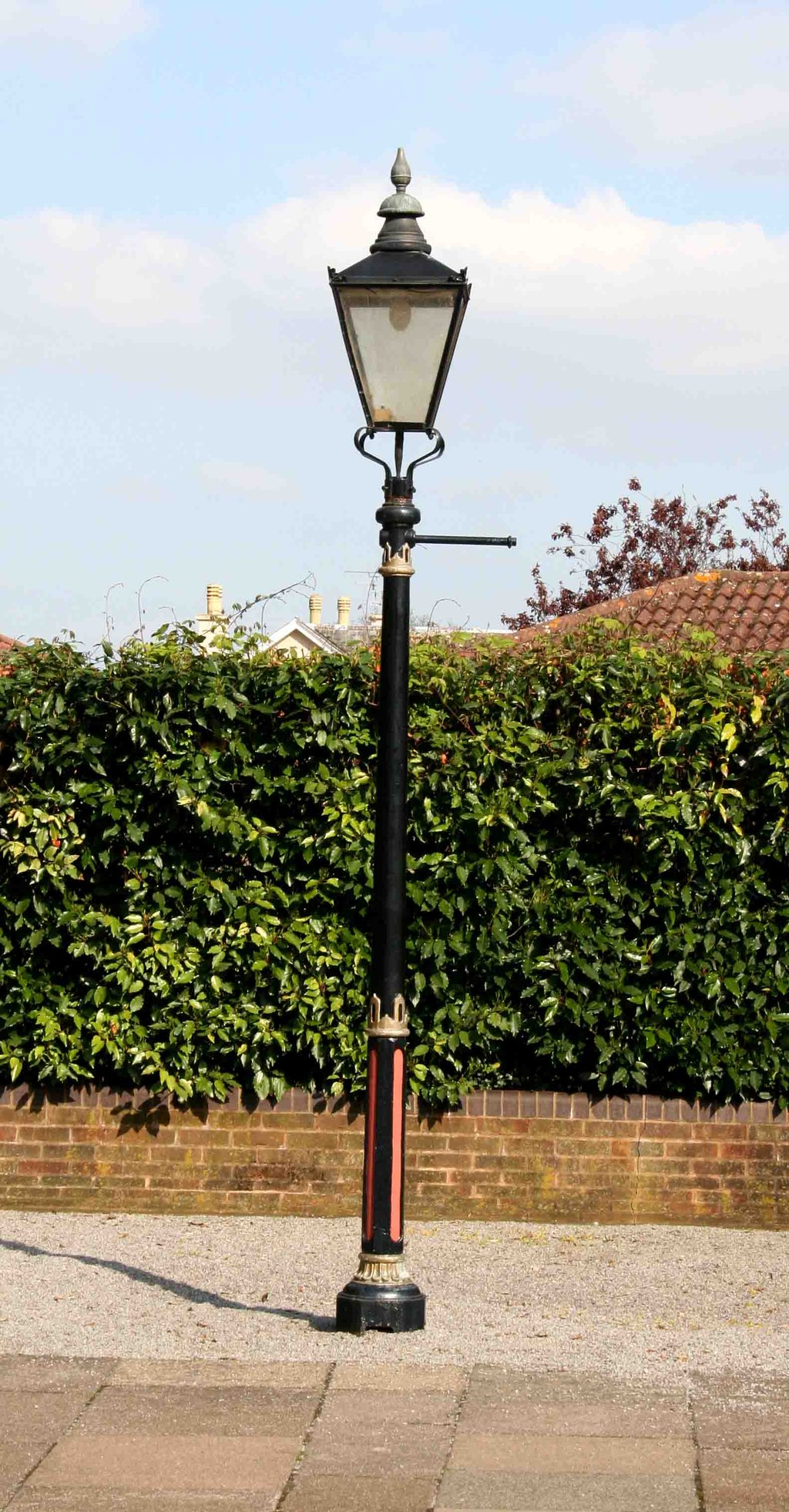 victorian street lamp photo - 5