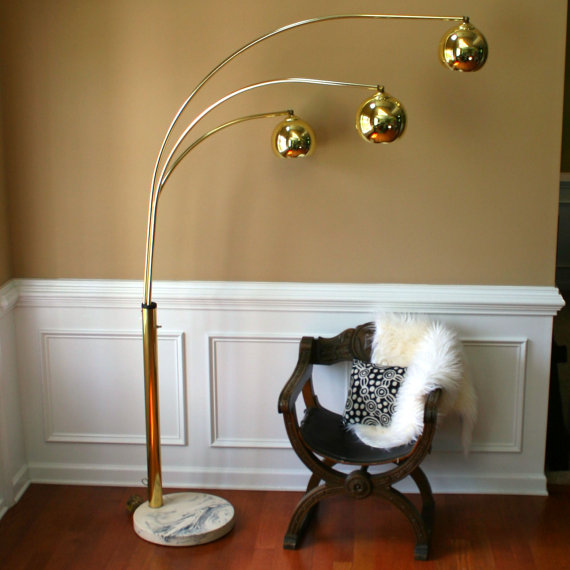 vintage arc lamp photo - 4