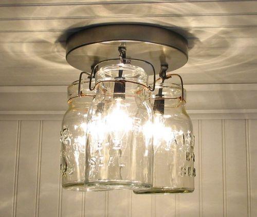 vintage ceiling lights photo - 2