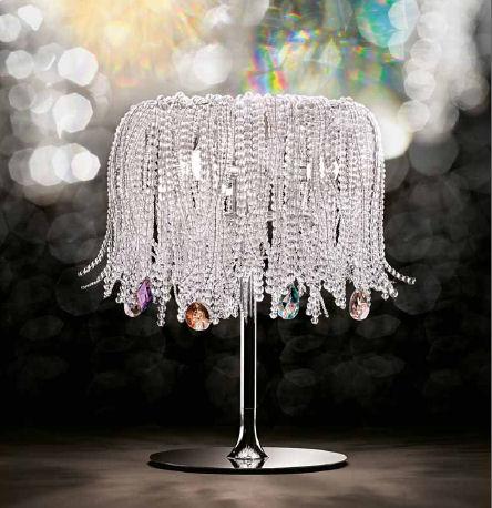 Vintage crystal table lamps – Crystal Desk Lamps