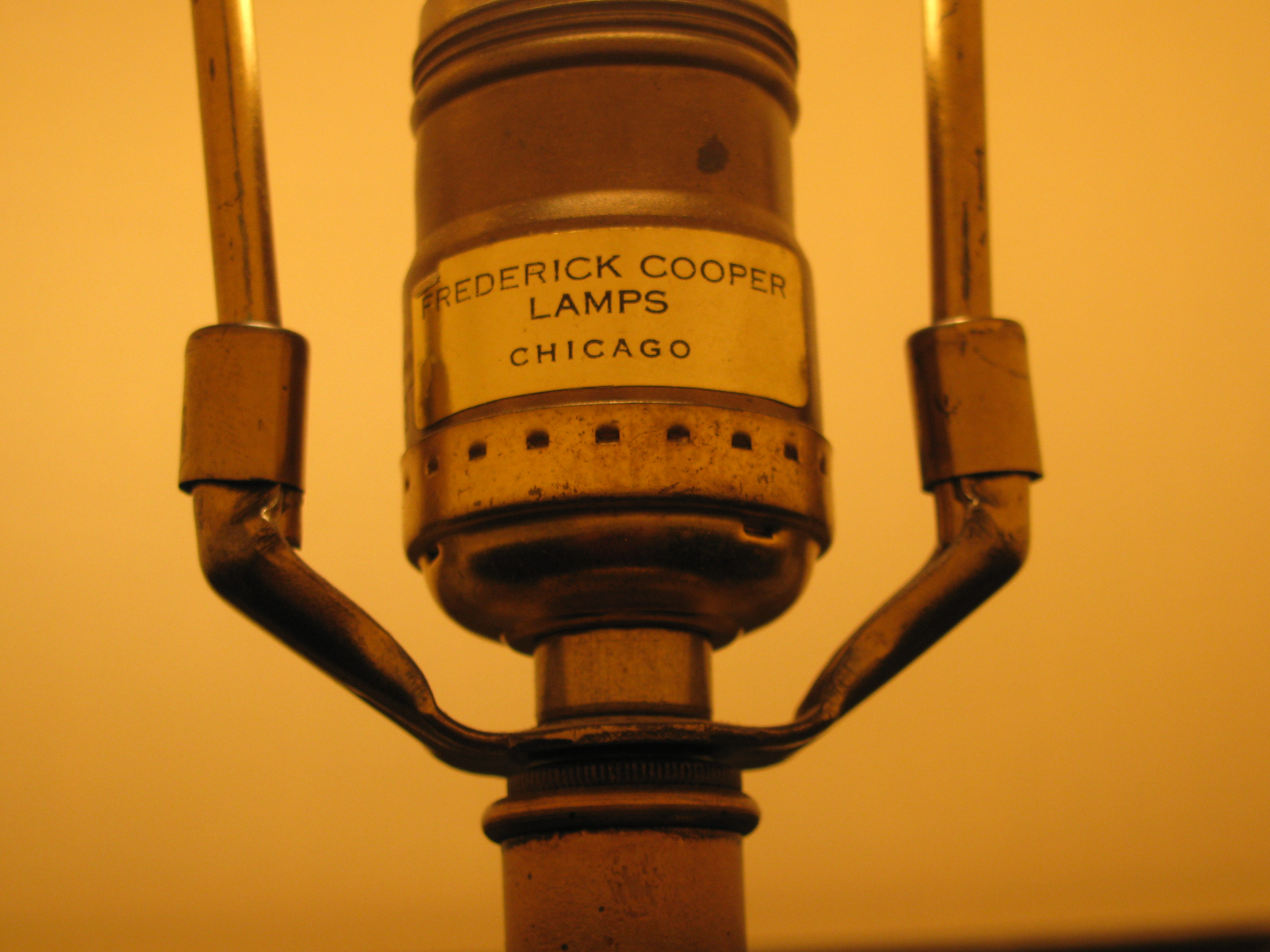 vintage frederick cooper lamps photo - 1