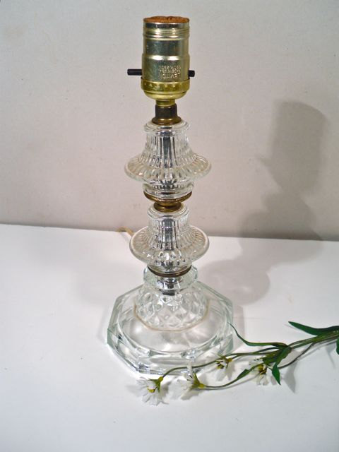Captivating Vintage Glass Lamps Photo   1