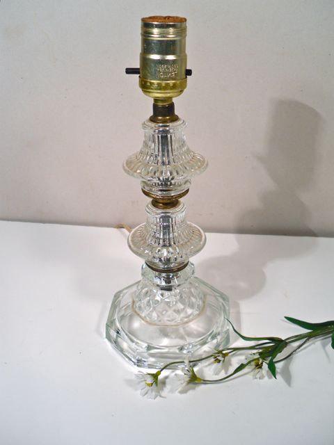 vintage glass lamps photo - 1