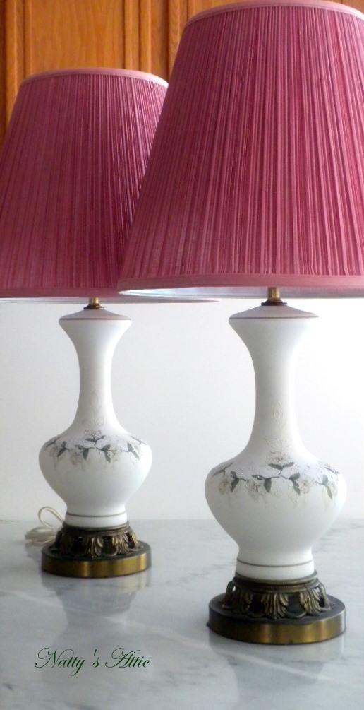 vintage glass lamps photo - 8