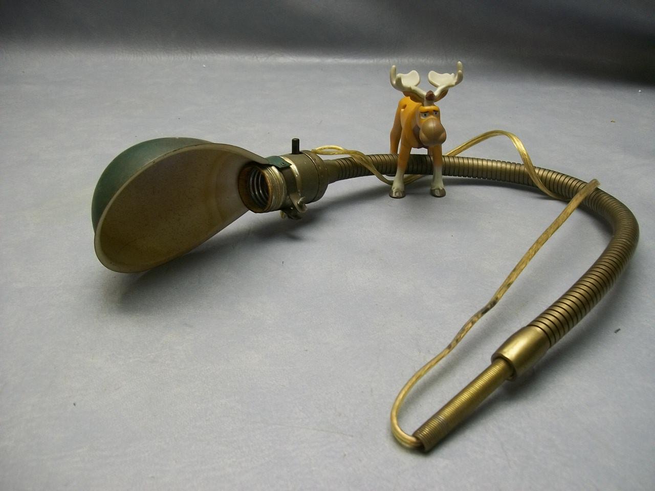 vintage gooseneck lamp photo - 2