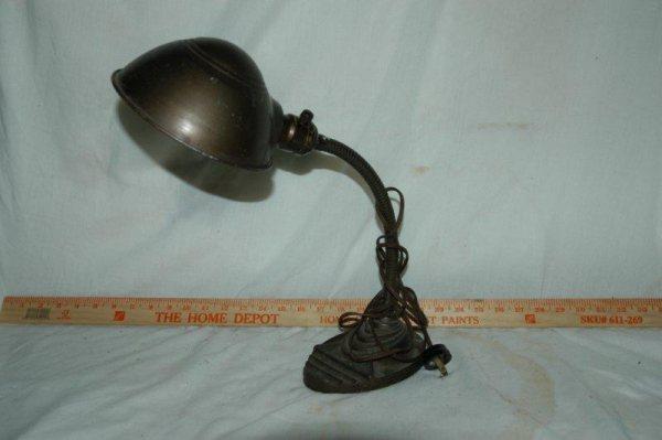 vintage gooseneck lamp photo - 5