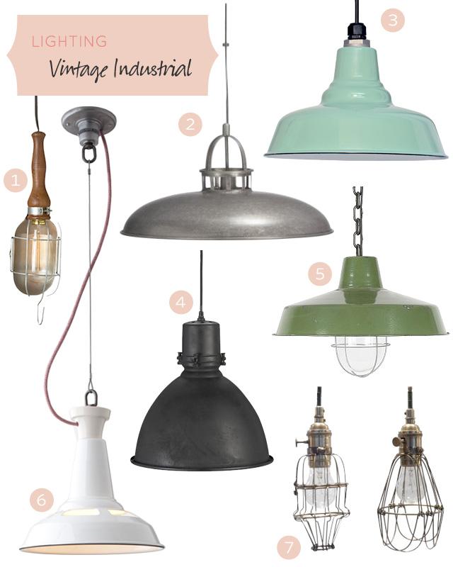 vintage industrial floor lamp photo - 10