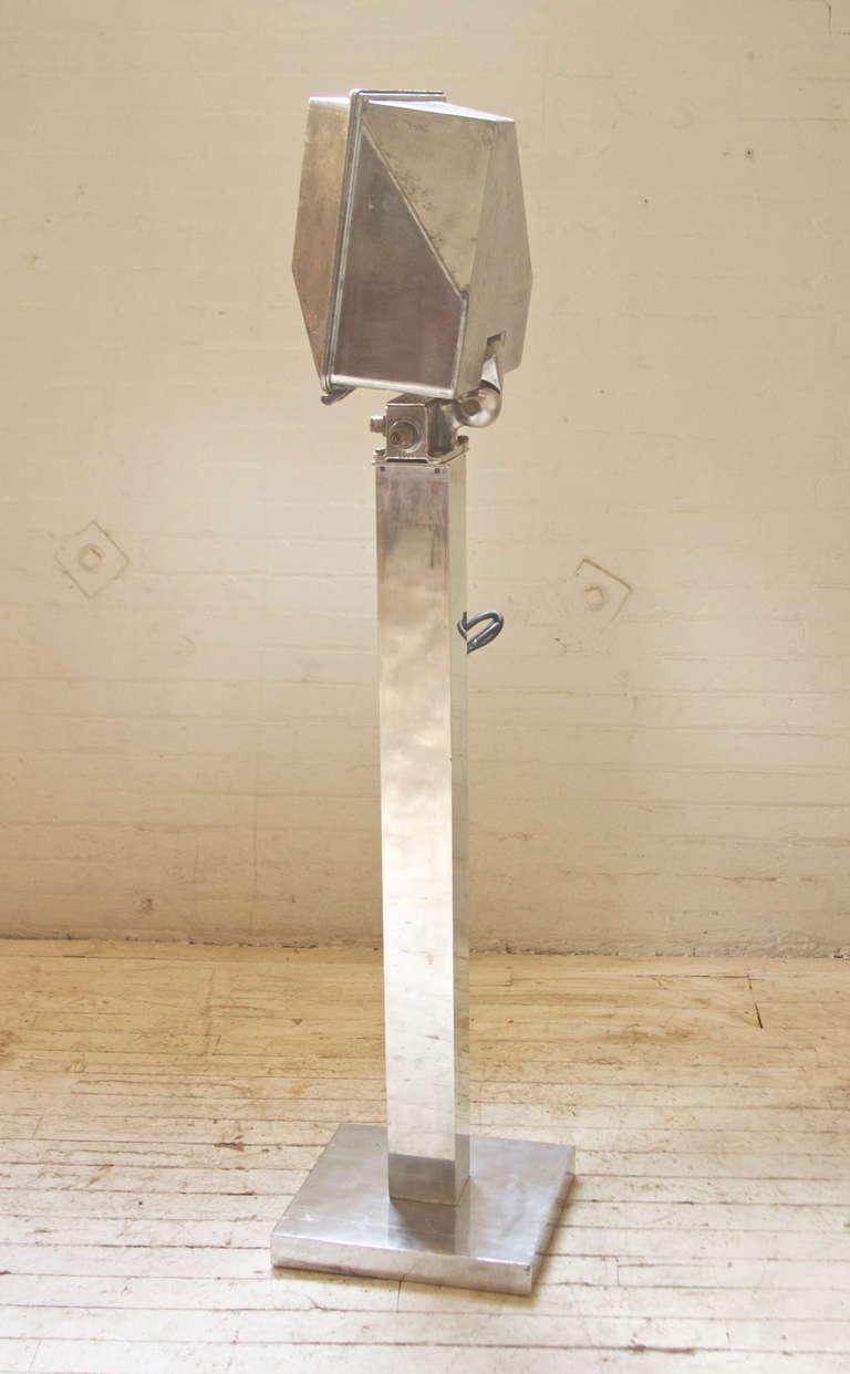 vintage industrial floor lamp photo - 8