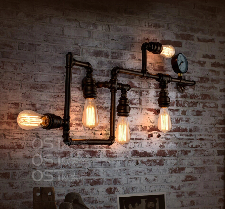 Retro Interior Wall Lights : Vintage industrial wall lights add security to your outdoor space Warisan Lighting