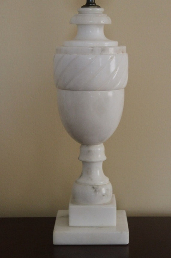 vintage marble lamps photo - 4