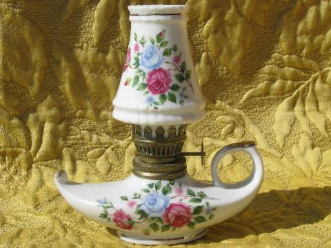 vintage oil lamps photo - 8