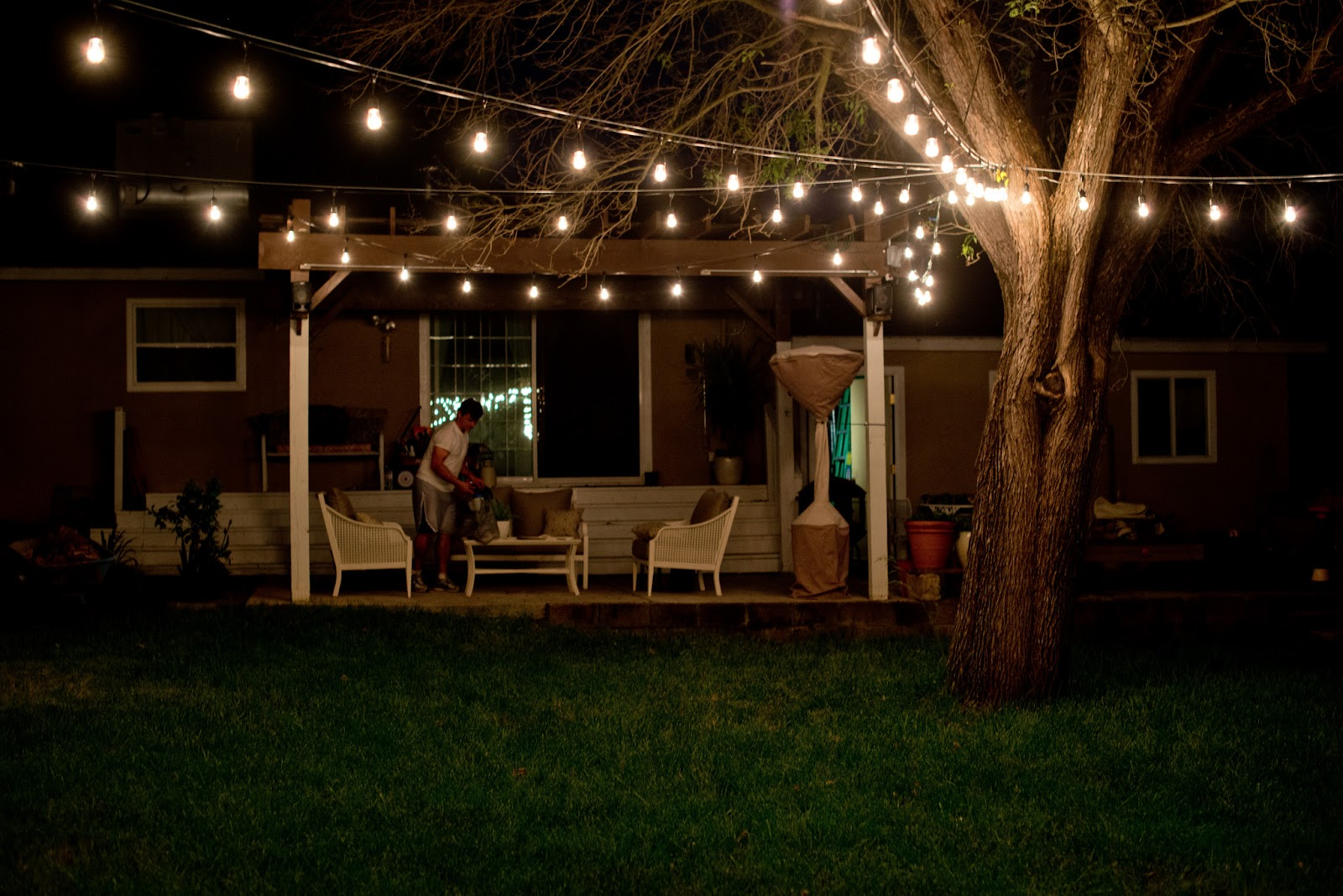 vintage outdoor lights photo - 7