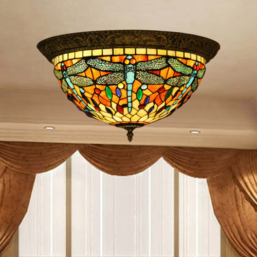 vintage style ceiling lights photo - 1
