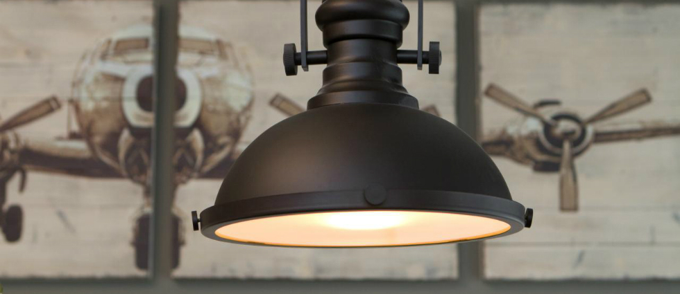 vintage style ceiling lights photo - 7