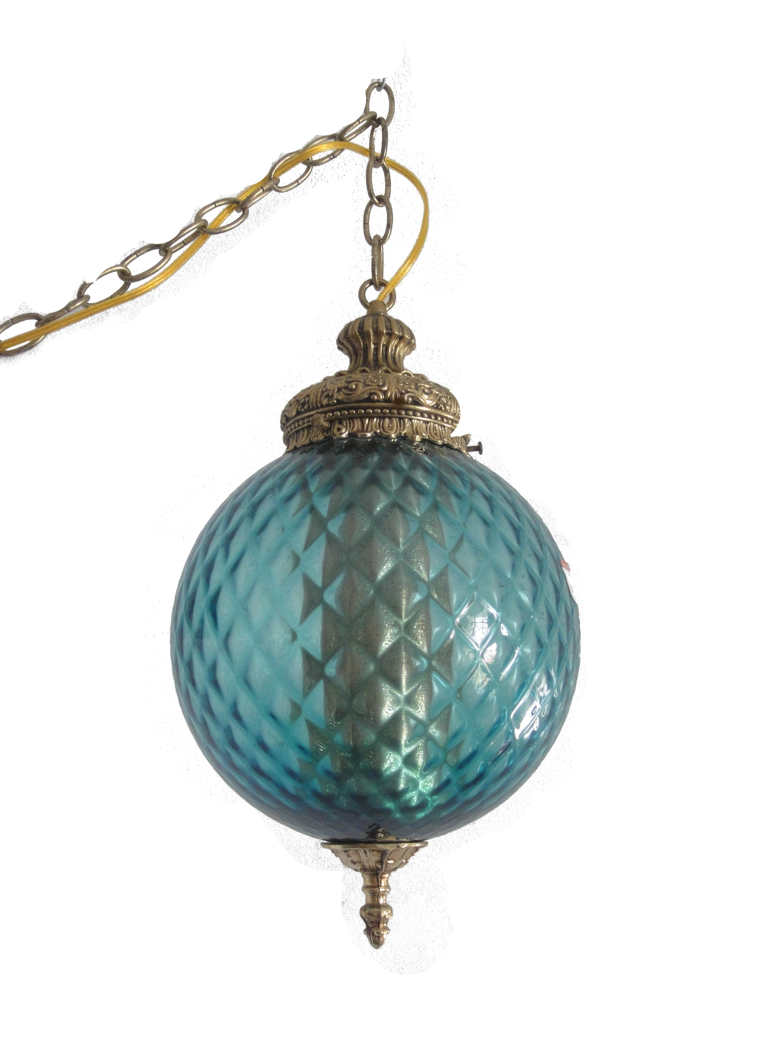 vintage swag lamps photo - 4
