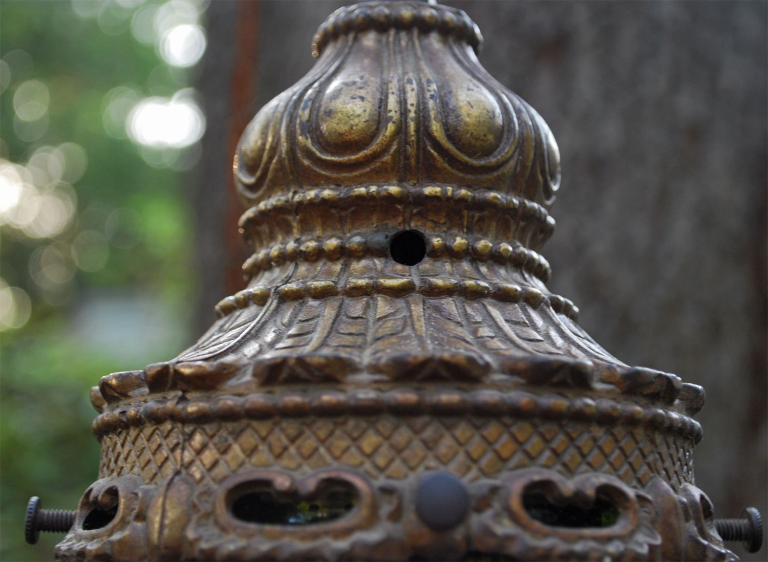 vintage swag lamps photo - 5